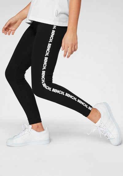 Bench. Leggings mit Bench-Logo Drucken