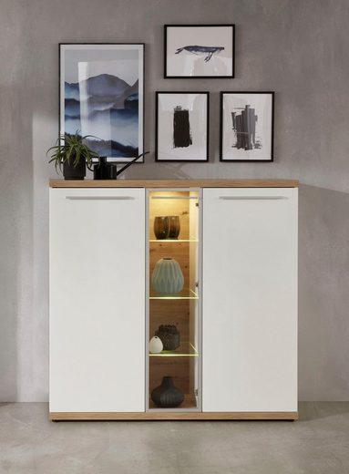 Trendteam »Odino« Highboard, Breite 140 cm