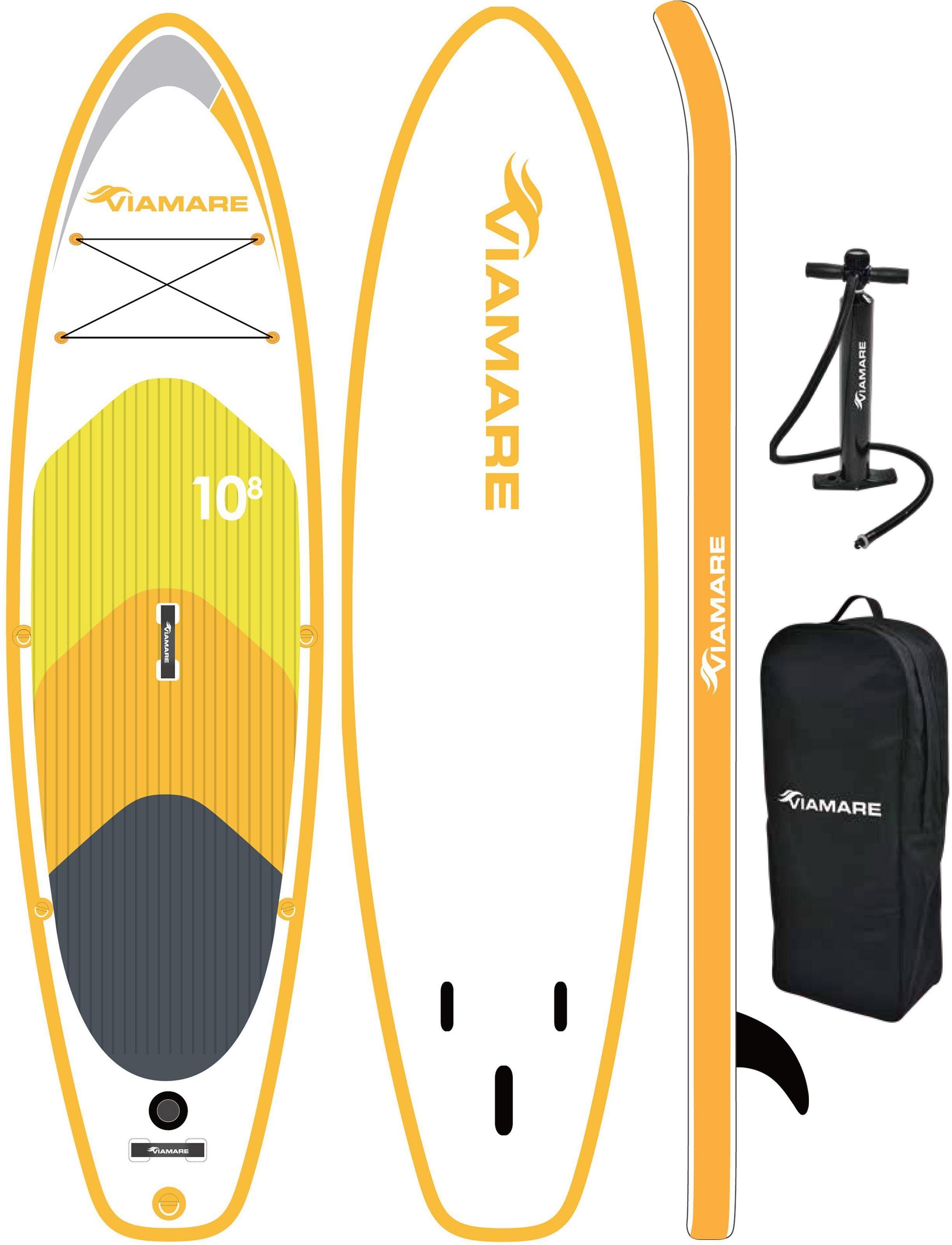 VIAMARE Inflatable SUP-Board »SUP Board VIAMARE 330 S gelb«