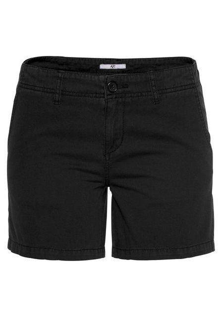 Hosen - AJC Chinoshorts mit leichten Waschdetails › schwarz  - Onlineshop OTTO