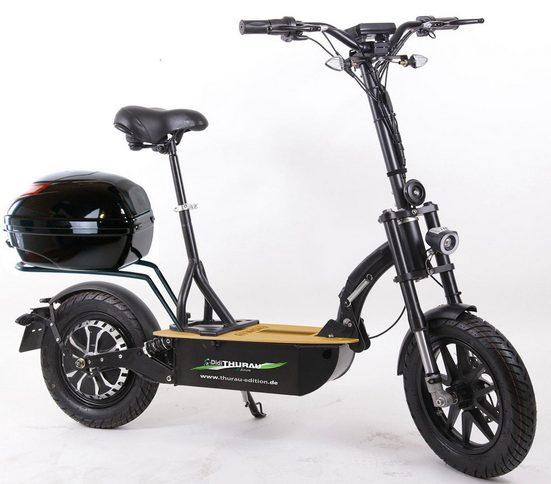 "Didi THURAU Edition E-Scooter »""Eco-Tourer"" 20 km/h Safety«, 600 W, 20 km/h"