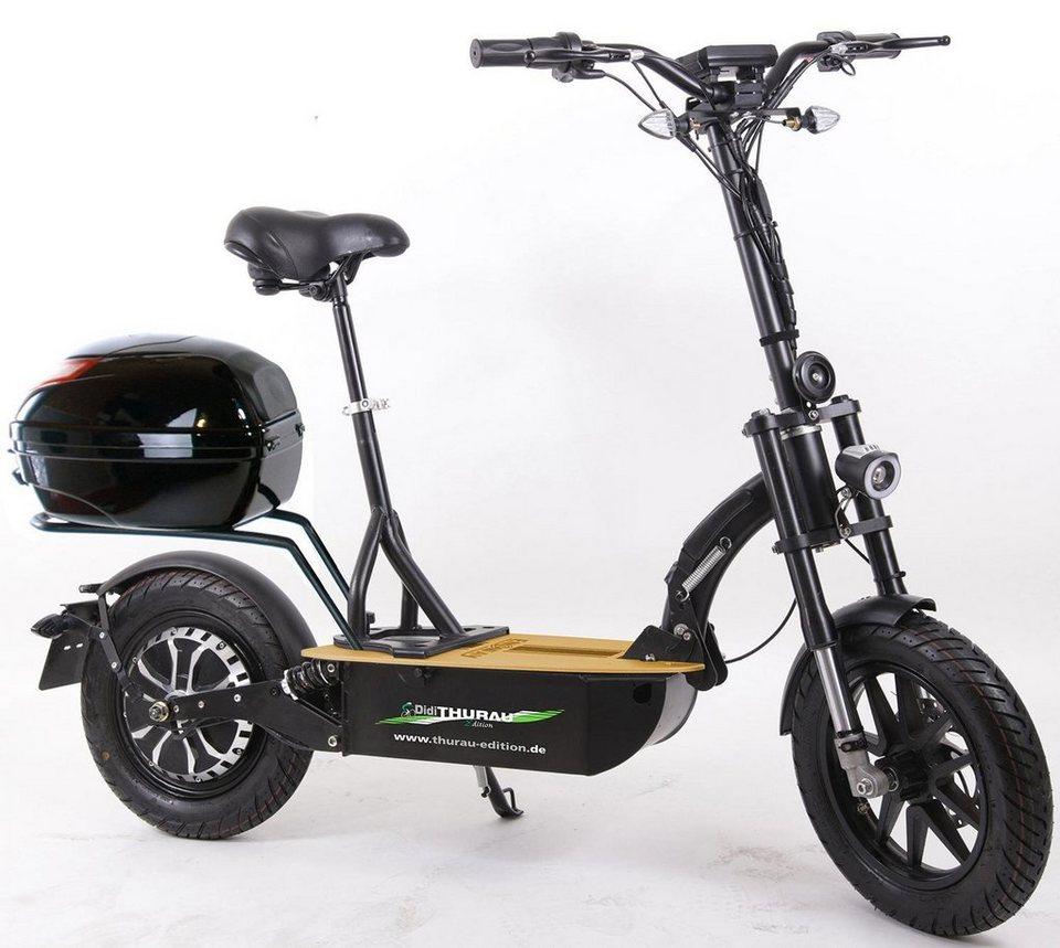 didi thurau edition e scooter elektroroller eco tourer speed 45 km h safety 1200 w 45 km h. Black Bedroom Furniture Sets. Home Design Ideas