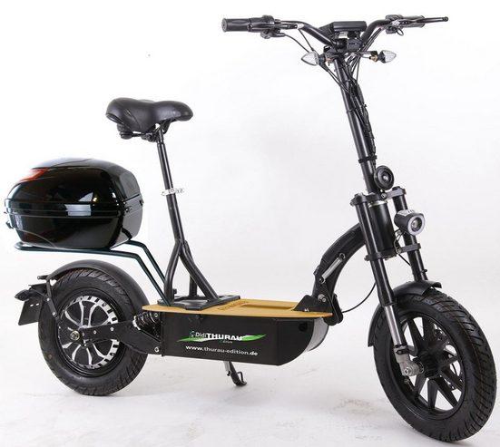 "Forca E-Scooter »Elektroroller ""Eco-Tourer Speed"" 45 km/h Safety«, 1200 W, 45 km/h"