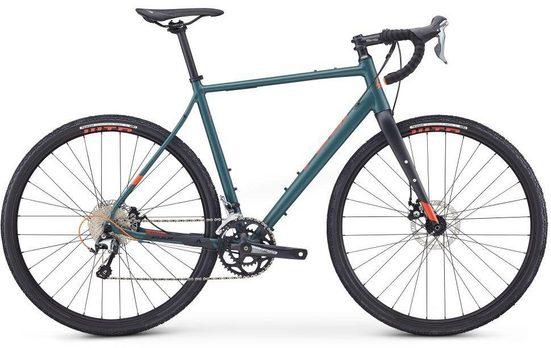 FUJI Bikes Gravelbike »JARI 1.5«, 20 Gang Shimano Tiagra Schaltwerk, Kettenschaltung