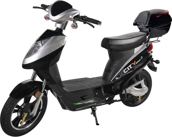 "Didi THURAU Edition E-Motorroller »Didi Thuarau Edition Elektroroller ""City-Star 2.0""«, 500 W, 45 km/h"