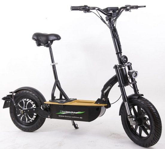 "Forca E-Scooter »Elektroroller ""Eco-Tourer"" 20 km/h Basic«, 600 W, 20 km/h"