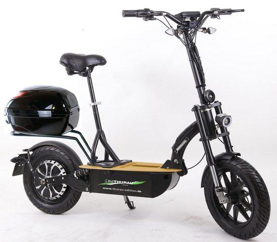 "Forca E-Scooter »Elektroroller ""Eco-Tourer Speed"" 45 km/h Safety Plus«, 1200 W, 45 km/h, mit STVZO-Zulassung"