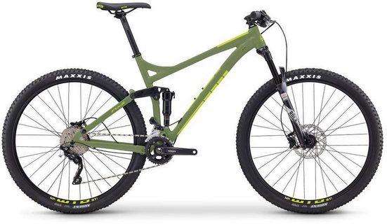 FUJI Bikes Mountainbike »OUTLAND 29 1.1 LTD«, 20 Gang Shimano Deore Schaltwerk, Kettenschaltung