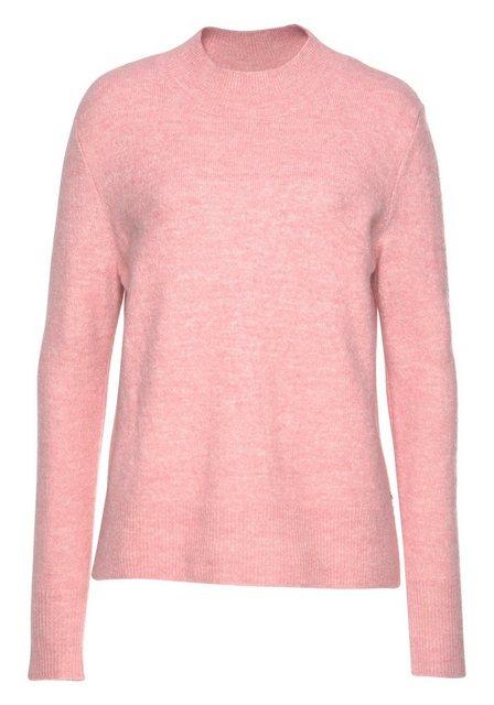 TOM TAILOR Denim Stehkragenpullover in leichter Flauschoptik   Bekleidung > Pullover > Stehkragenpullover   Tom Tailor Denim