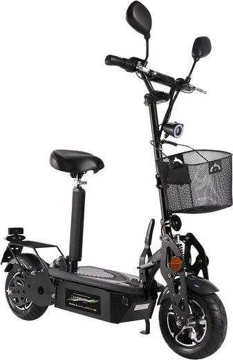 "Didi THURAU Edition E-Scooter »Didi Thurau Edition Elektroroller ""Street"" Basic - mit Korb - 45 km/h«, 1800 W, 45 km/h"