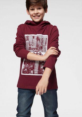 BENCH. Marškinėliai su gobtuvu