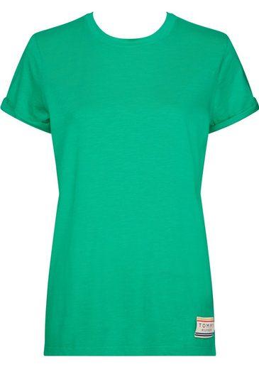 TOMMY HILFIGER T-Shirt »BO« mit Marken-Aufnäher am linken Bund
