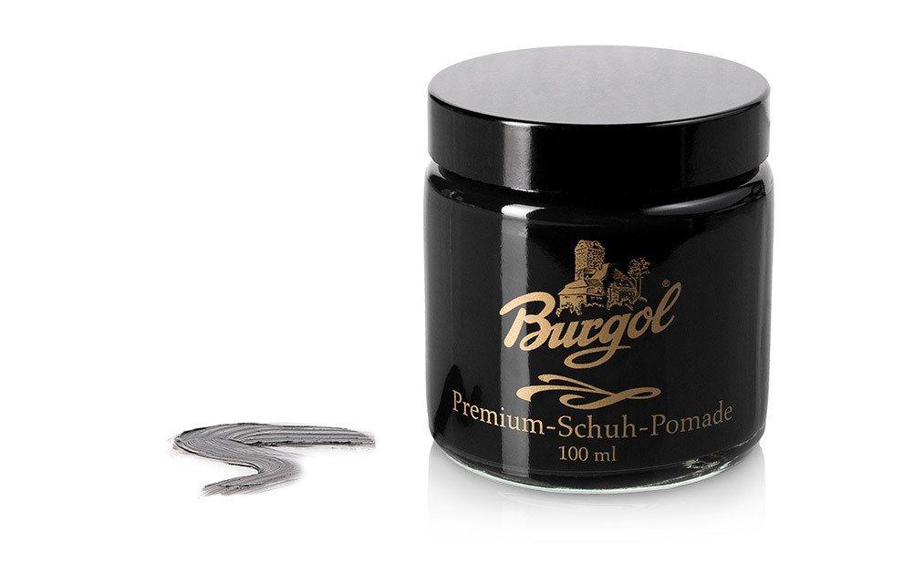 Burgol Schuhcreme »Burgol Pomade«, Hochwertige Mischemulsionscreme | Schuhe > Schuhe-Pflegemittel | Schwarz | Burgol