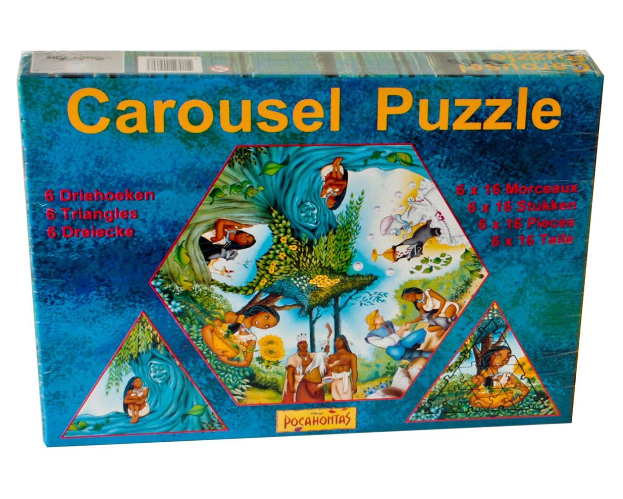 Puzzles & Geduldspiele 2 Ravensburger Puzzle aus DER GLÖCKNER VON NOTRE DAME je 500 Teile