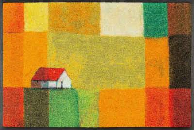Fußmatte »Meadow Lands«, wash+dry by Kleen-Tex, rechteckig, Höhe 7 mm, Schmutzfangmatte, In- und Outdoor geeignet, waschbar