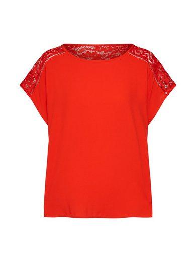 Vero Moda Spitzenshirt »VMCILLE BOCA« Spitze