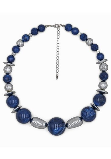 J.Jayz Collier »mit großen Perlen, verlaufend« mit Kunststoffperlen, Made in Germany