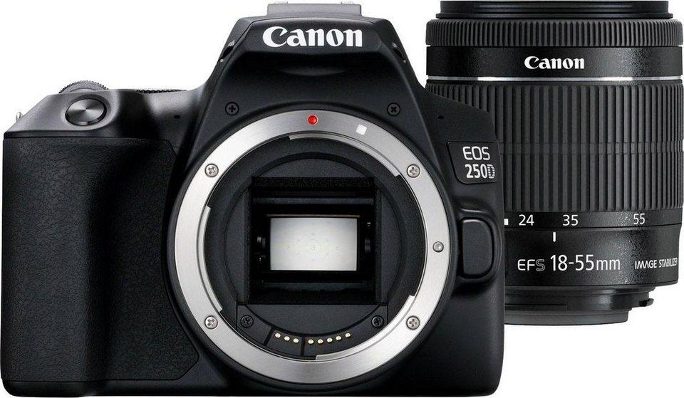 canon eos 250d ef s 18 55 is kit spiegelreflexkamera ef. Black Bedroom Furniture Sets. Home Design Ideas