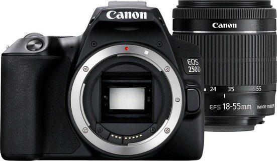Canon »EOS 250D EF-S 18-55 IS Kit« Spiegelreflexkamera (EF-S 18-55mm f/4-5.6 IS STM, 24,1 MP, WLAN (Wi-Fi), Bluetooth)