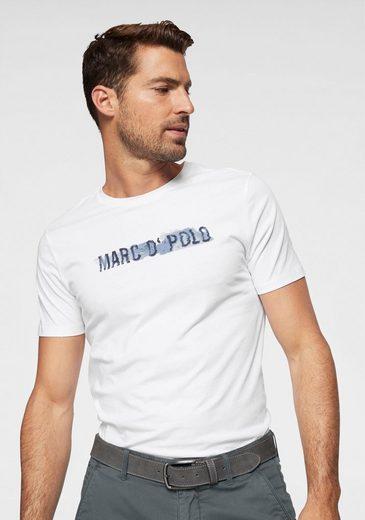 Marc O'Polo T-Shirt aus Jersey mit Printaufdruck