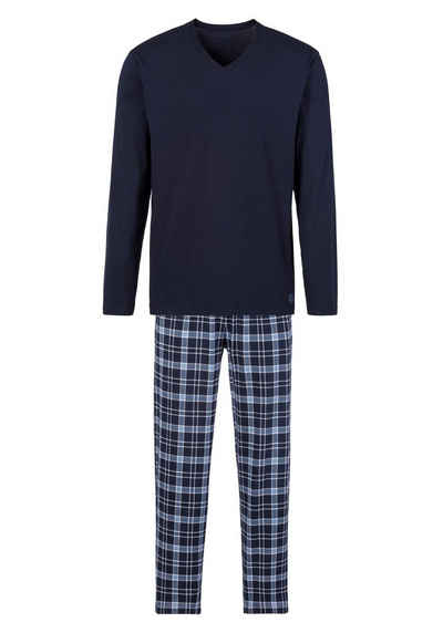 s.Oliver Pyjama mit Karo-Hose