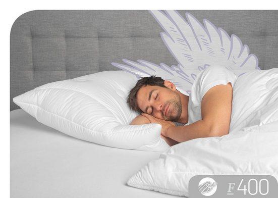 Baumwollkissen, »F400«, Schlafstil, (1-tlg)