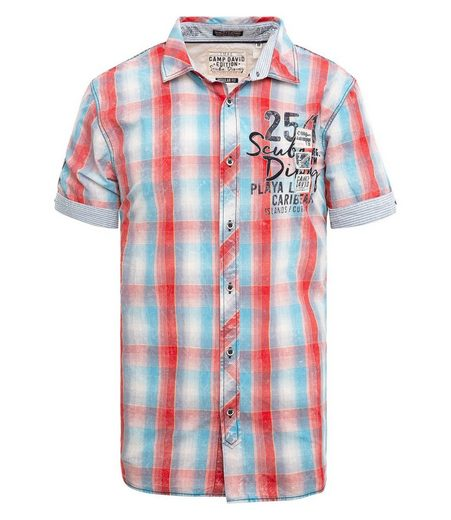 CAMP DAVID Hemd mit Rückenpasse
