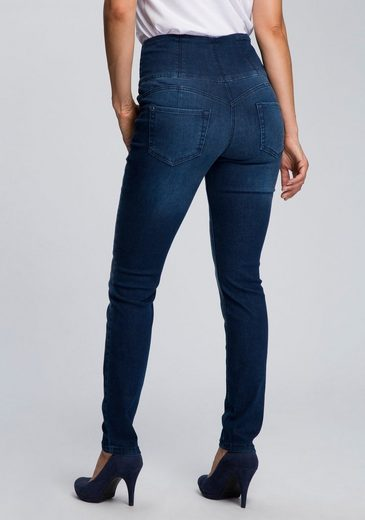 MAC High-waist-Jeans »Curvy« Extra hoher formender Shaping-Bund