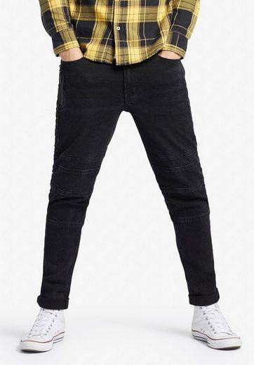 khujo 5-Pocket-Jeans »KYAN« im Slim Fit mit gummierten Details