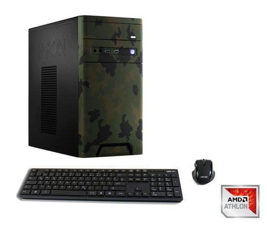 Hyrican CyberGamer Athlon X4 950 8GB RAM 240GB 1TB GeForce® GTX 1050 Ti »CyberGamer 6320«