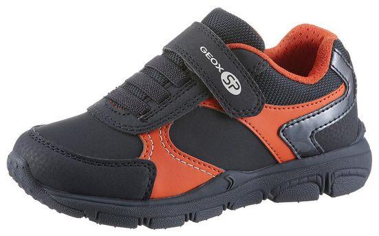 Geox Kids »New Torque Boy« Sneaker mit praktischen Klettverschlüssen
