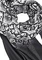 LASCANA Modeschal mit Schlangenoptik und mit kleinen Tasseln, Bild 3