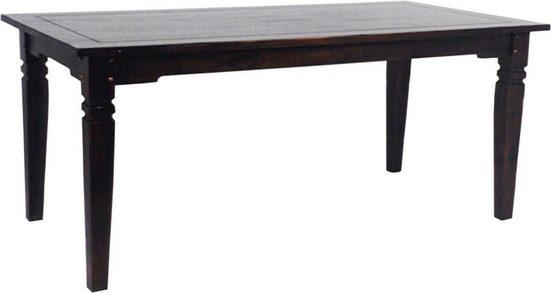 SIT Esstisch »Samba«, mit Ansteckplatten, Breite 160 cm
