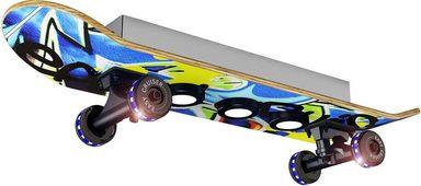 EVOTEC LED Deckenleuchte »EASY CRUISER GRAFFITI«, 7-flammig