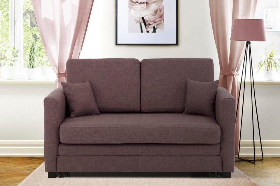Ausziehbare Couch 2 Sitzer