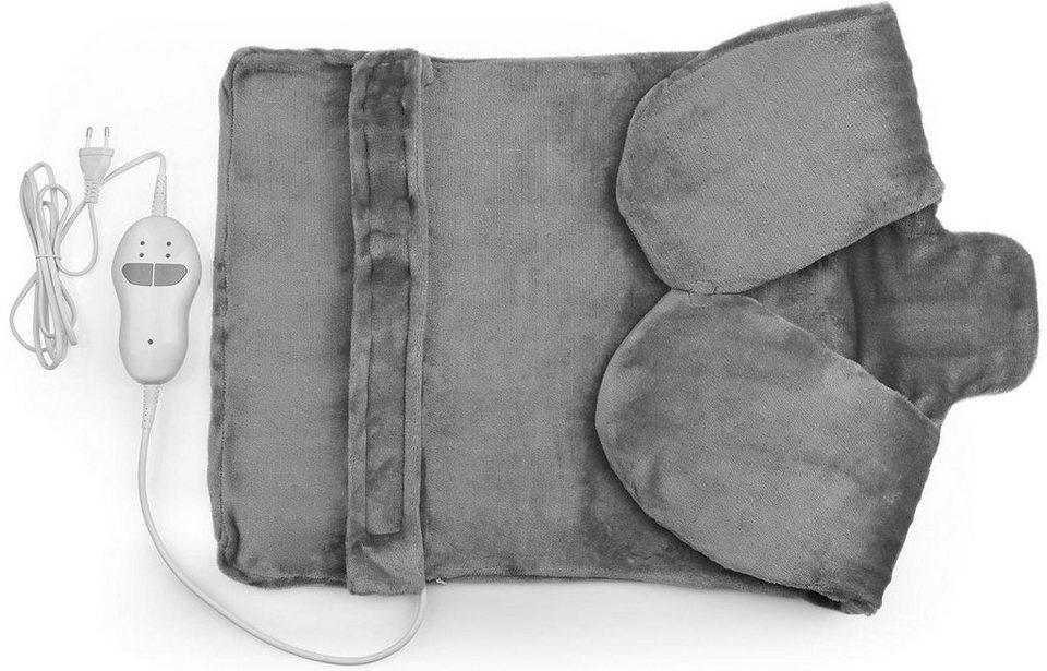 vitalmaxx heizdecke inkl vibration f r nacken r cken online kaufen otto. Black Bedroom Furniture Sets. Home Design Ideas