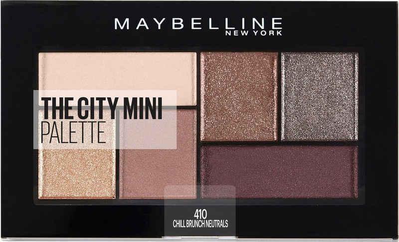 MAYBELLINE NEW YORK Lidschatten-Palette »The City Mini«, Chill Brunch Neutrals