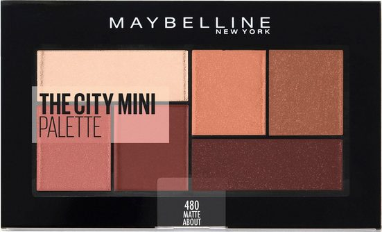 MAYBELLINE NEW YORK Lidschatten-Palette »The City Mini«, Matte About Town