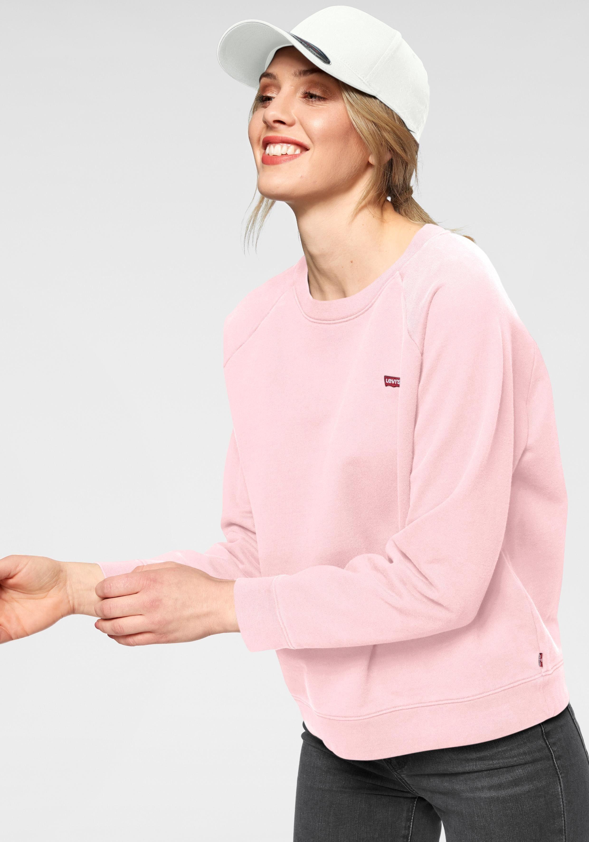 Levi's® Sweatshirt »Relaxed Graphic Crew« mit kleinem aufgenähtem Logo online kaufen | OTTO