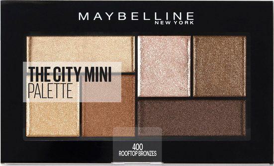 MAYBELLINE NEW YORK Lidschatten-Palette »The City Mini«, Rooftop Bronzes