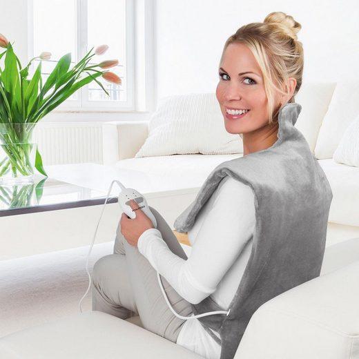 VITALmaxx Heizdecke »2 in 1 - Wärme und Vibrationsmassage«, für Nacken & Rücken