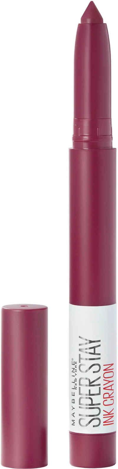 MAYBELLINE NEW YORK Lippenstift »Super Stay Ink Crayon«