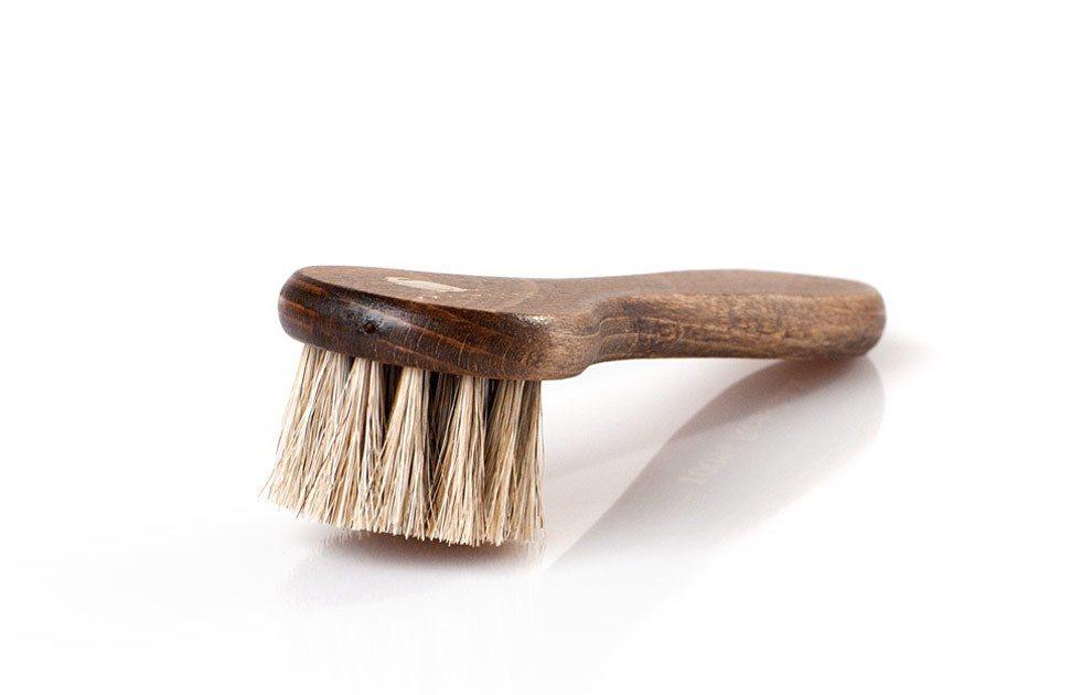 Solitaire Schuhputzbürste »Tiegelbürste«, Gleichmäßiges Auftragen von Schuhcreme | Schuhe > Schuhe-Pflegemittel | Weiß | Rosshaar | Solitaire