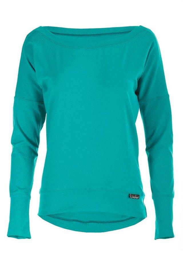 Winshape Oversize-Shirt »Longsleeve WS2«   Bekleidung > Shirts > Oversize-Shirts   Grün   Winshape