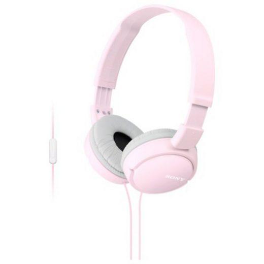 Sony Headset »Faltbarer Kopfhörer mit Headsetfunktion«
