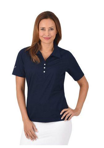 TRIGEMA Polo marškinėliai iš medvilnė su Swaro...