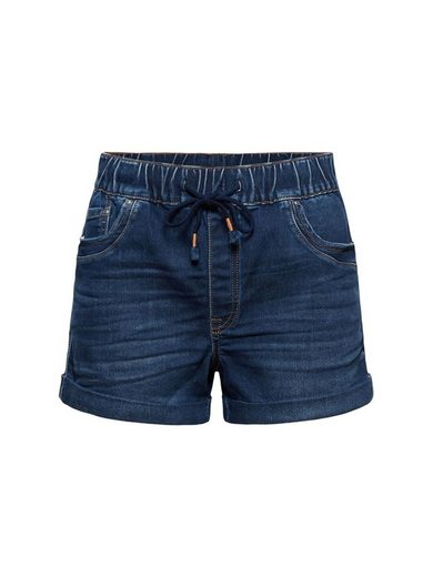 edc by Esprit Jeansshorts »Jeans-Shorts in Jogger-Qualität« (1-tlg)