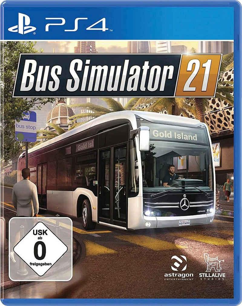 Bus Simulator 21 PlayStation 4