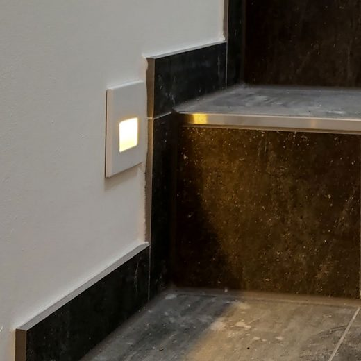 s.LUCE LED Einbaustrahler »Box Weiß«