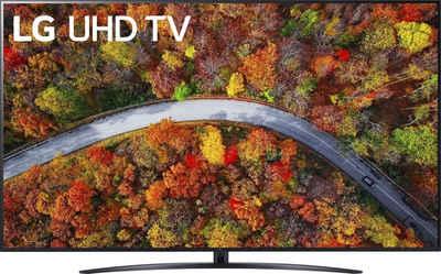 LG 75UP81009LR LCD-LED Fernseher (189 cm/75 Zoll, 4K Ultra HD, Smart-TV, LG Local Contrast, Sprachassistenten, HDR10 Pro, LG ThinQ, inkl. Magic-Remote Fernbedienung)